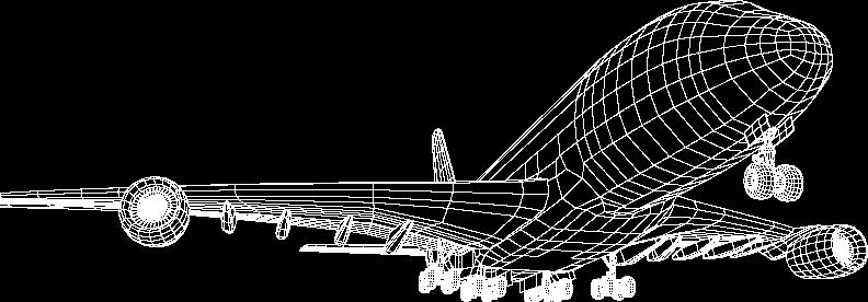 plane-wireframe