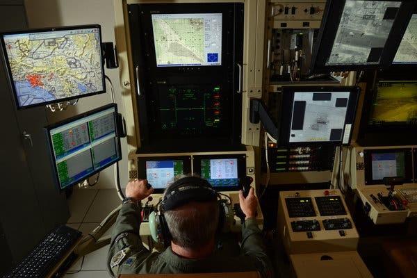 Drone Pilot Operating MQ-9 Reaper 7,000 Miles Away