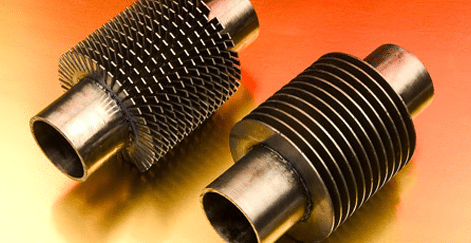 copper pinsfor heat transfer