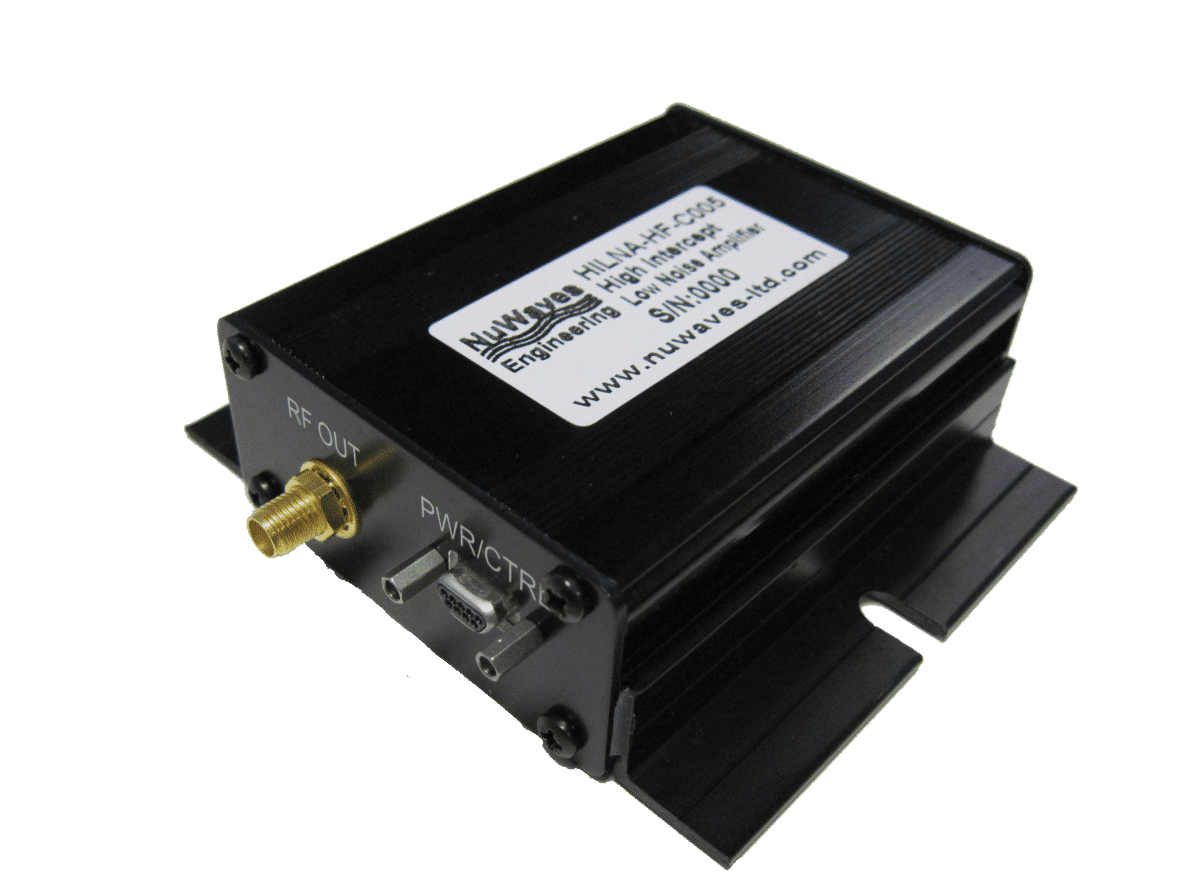 HILNA™ HF Low Noise Amplifier - NuWaves Engineering: Aerospace