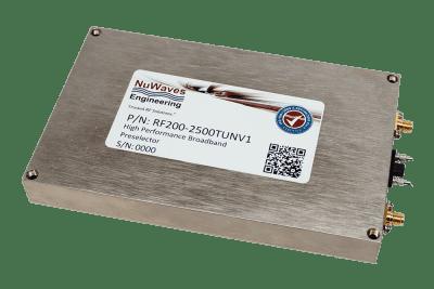 RF Design Tunable RF Preselector Filter