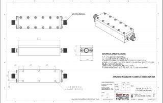 RF Filter design; Cavity Filters