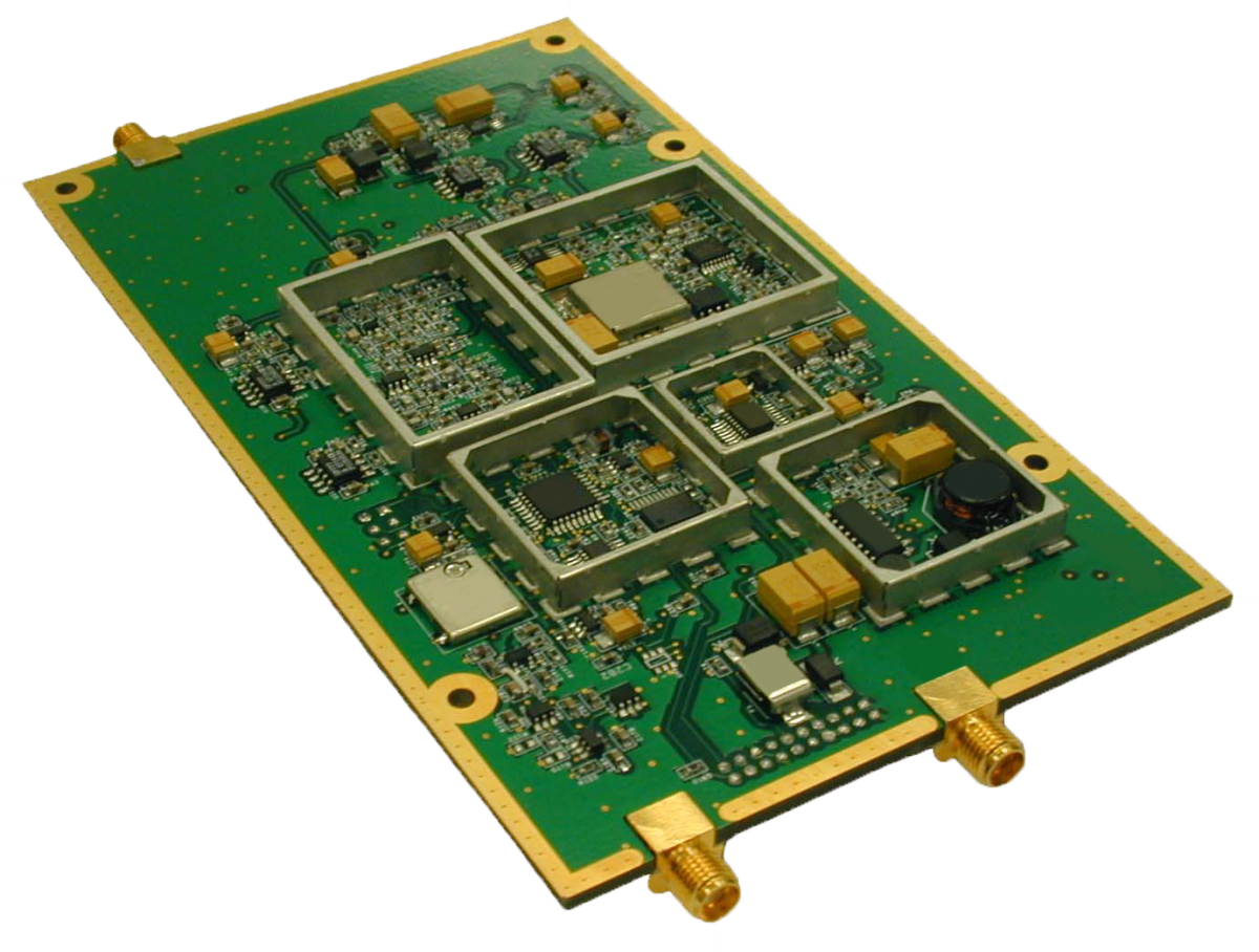 RF Design Intercept Receiver VHF UHF downconverter