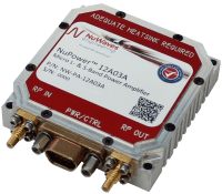 RF Design L-3 Bandit Miniature L- and S-Band transceiver micro amplifier for aerial vehicles