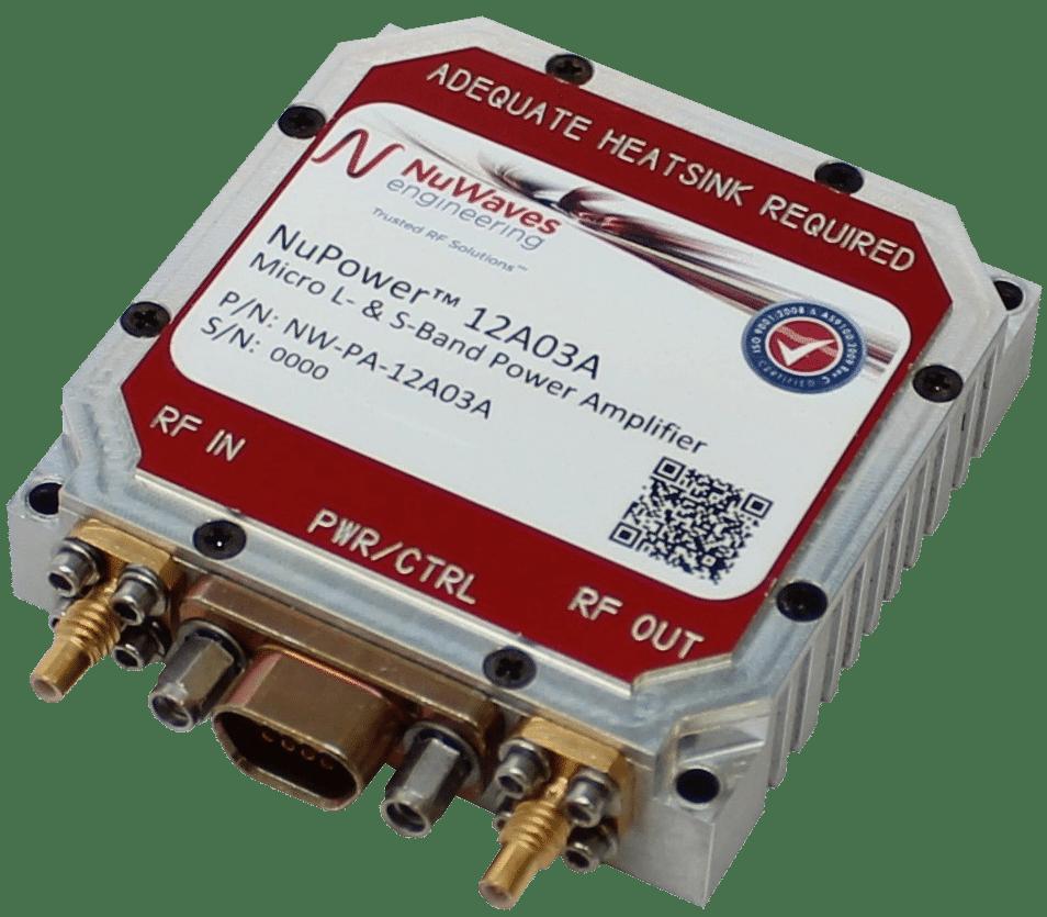 Low SWaP COTS Power Amplifier Design