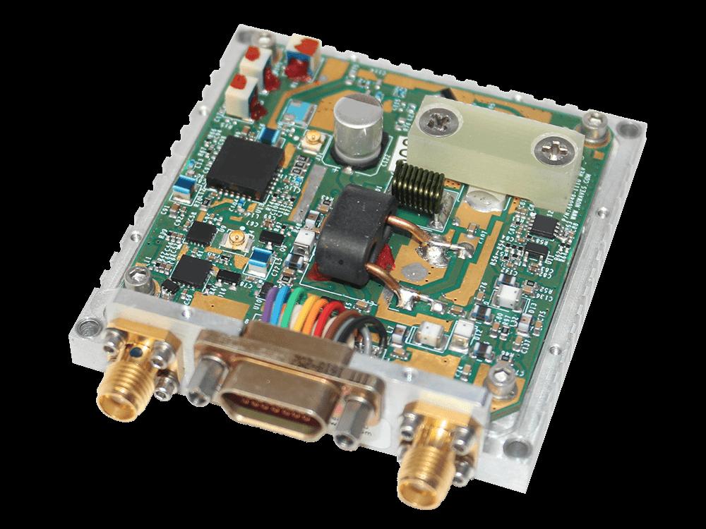 RF Design UHF Bidirectional Amplifier half-duplex transceivers fast switching time