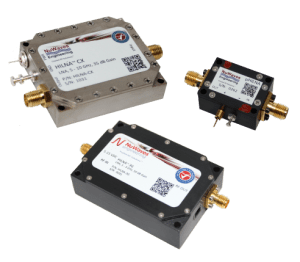 NuWaves Engineering Low Noise Amplifiers High Intercept, High Gain, High Linearity Low Noise Figure and Broadband Performance
