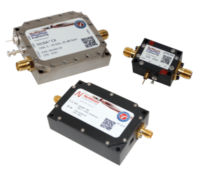 NuWaves Engineering RF Low Noise Amplifier LNA Design Services