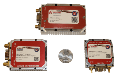 Power Amplifiers for Unmanned Aerial Systems
