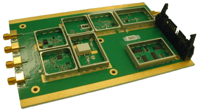 RF Design portable radar simulator PRS