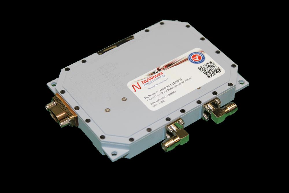 Miniature C-Band Bidirectional Amplifier BDA Small form Factor