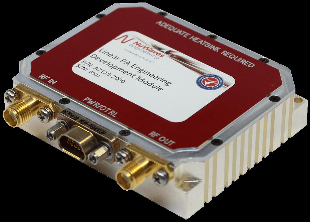 Power Amplifier Design; high efficiency high linearity; custom mmic power amplifier