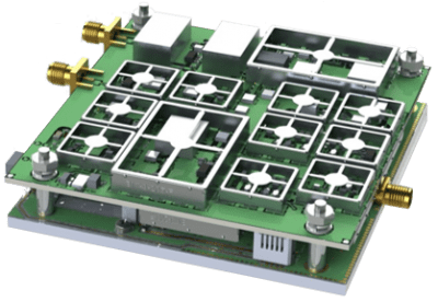 RF Design SATCOM L-Band Upconverter
