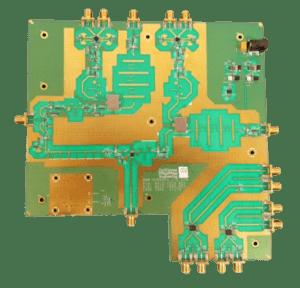 RF Design Two Channel Wideband Multiband Block Downconverter