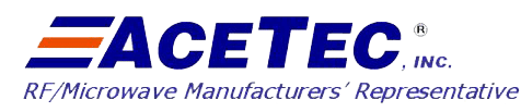 NuWaves Engineering Field Sales Rep ACETEC LLC