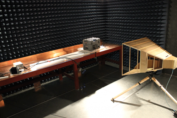 anechoic chamber product qualification
