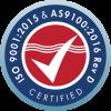 NuWaves Engineering ISO 9001:2015 & AS9100:2016 Rev D Certified
