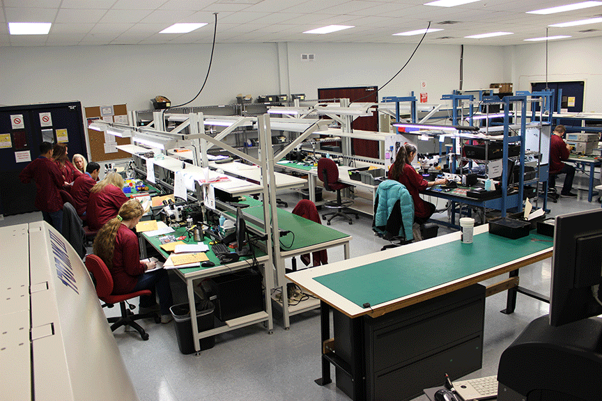 in-house Radio Frequency Manufacturing